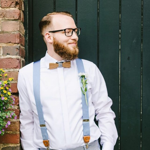 Groom with style bowtie wedding groom boho rustic style accessoireshellip